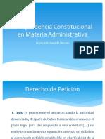 JurisprudenciaConstitucionalEnMateriaAdministrativa