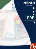 Maraver Catering Menús Bodas 2016