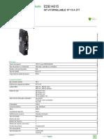 Tableros de Distribución Eléctrica NF_EDB14015