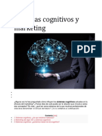 Sistemas Cognitivos y Marketing