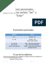 Pronombres Personales Print