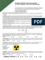 Física e Química - Coxinha