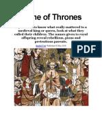 Nombres de Reyes Medievales