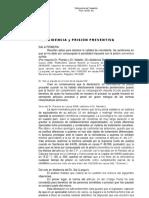 Reincidencia Prision Preventiva