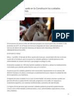 01/Julio/2019 Senado Mexicano Aade en La Constitucin Los Cuidados Paliativos a Enfermos