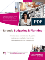 Talentia Budgeting Planning ESP
