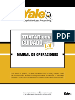 Yale Operators Manual––Sp