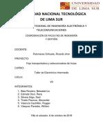 Final Faja Proyecto Informe
