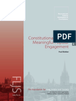 Populist Constitutionalism and Meaningful Popular Engagement