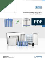 Viledon Produktkatalog 2013 2014