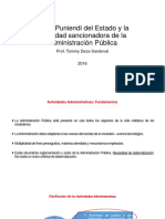 El Ius Puniendi Del Estado y La Actividad Tommy Deza Sandoval