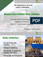 3 Aula - Desenvolvimento Cidade