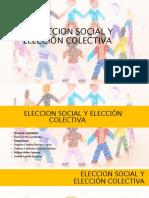 2. La elección social y elección colectiva