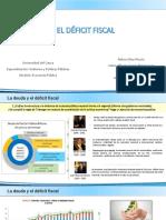 5. La deuda y el déficit fiscal
