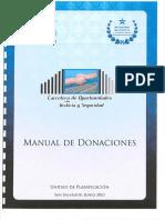 Manual de Donaciones 2013