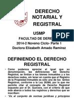 DERECHO_NOTARIAL_Y_REGISTRAL_USMP_PARTE_1_2014-2.ppt