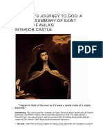 A Concise Summary of Saint Teresa of Avila's Interior Castle