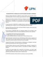 Pacto PP UPN