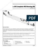 TeraFlex JK Complete HD Steering Kit