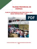 Plan de Contingencia Ante Periodo de Heladas 2019