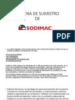 Cadena de Sumistro Sodimac