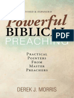 Derek J. Morris - Powerful Biblical Preaching