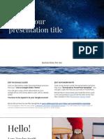 slide format