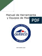 herramientas especializadas y medicion