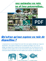 01 Especes en Voie de Disparition