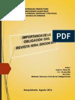 Revista Derecho Civil de Las Obliga