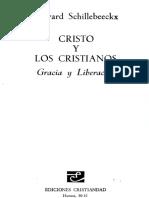 CRISTO Y LOS CRISTIANOS EDWARD SCHILLEBEECKX.pdf