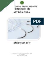Catálogo Set de Sutura