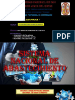 SISTEMA NACIONAL DE ABASTECIMIENTO