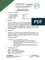 Gestion de Proyectos 2019-i