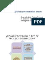 Proceso de Selección en Contrataciones Del Régimen Clásico