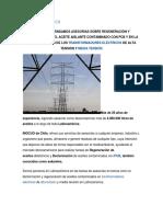 Plan de Manejo y Situación de Los PCB's en Chile