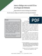 Direitos humanos e diálogo com o século XXI na Carta Magna da Umbanda