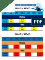 CLUB DEPÓRTIVO LA ACADEMIA CRUZ AZUL HORAIO.doc