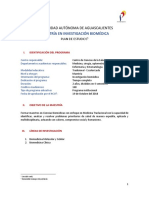 Plan de Estudios Mib