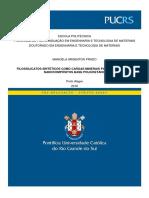 Filossilicatos Sintéticos Como Cargas Minerais Para Obtenção de Nanocompositos Base Poliuyretano