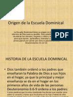 seminario para maestros de escuela dominical