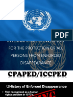 International Convention for the Protection of All Persons