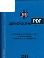 DPWH 2013 Cover Sheet