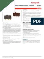 Honeywell Sm Basic Datasheet 004959 3 En