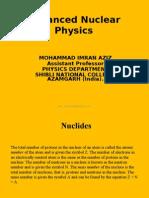 Advanced Nuclear Physics by imran aziz