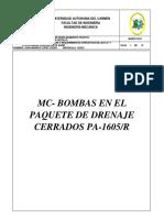 Memorias de Cálculo Bomba de Tornillo Oficial