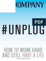 Unplug how to get things done