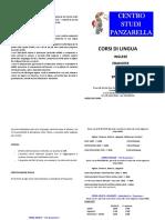 Brochure Corsi