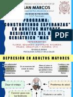 PROGRAMA DE PREVENCIÓN DE LA DEPRESIÓN EN ADULTOS MAYORES