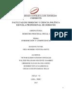 Monografia Juridiccion y Competencia - 2017